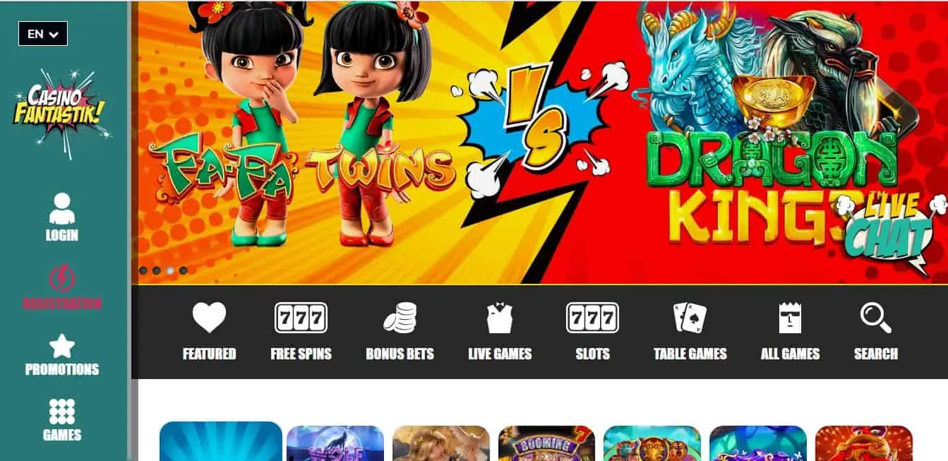 fantastik casino avis : un site attractif et rentable